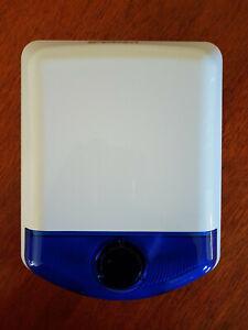 1 x DSC IMPASSA or ALEXOR Wireless External Siren. Brand New. WT4911BAM