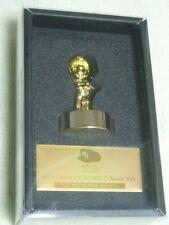 Z193 Club Nintendo Platinum Member Limited Gold Mario Statue Figure Japan F/S