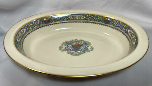 """Lenox China AUTUMN GOLD STAMP 9 1/2"""" OVAL VEGETABLE Bowl~Serving Dish"""