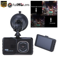 "3.0"" 1080P HD Car DVR Dash Camera Video Recorder Night Vision G-sensor 120° 12MP"