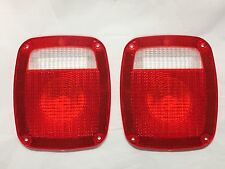 1977-87 Chevrolet GMC C10 K10 Short Bed Stepside Truck Tail light Lamp Lens