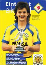 II. BL 91/92  Eintracht Braunschweig - SV Meppen, 24.07.1991