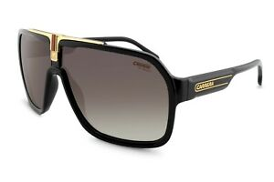 Carrera 1014/S Men's Black Retro Sunglasses Motor Sports  Aviator UV Protective