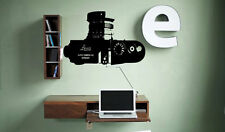 Leica Camera Sticker Decal Wall Art Photography Lens Photo Booth tr374
