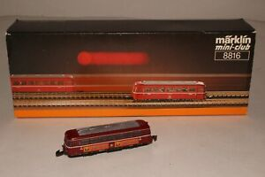 MARKLIN Z SCALE #8816 JAEGERMEISTER DB RAILBUS, EXCELLENT, BOXED