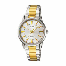 Casio LTP1303SG-7A Silver Two-Tone Stainless-Steel Bracelet Ladies Watch
