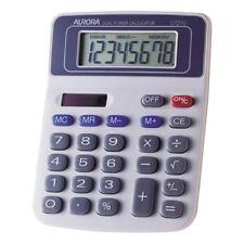 Aurora DT210 Desktop Calculator Solar Powered