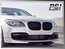 2009-2015 BMW F01 F02 7-Series Glossy Black Front Kidney Grille Kit 740i 750i