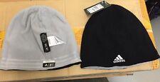 NEW Adidas Merino Wool Reversible Black Gray Beanie B86921