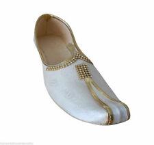 Men Shoes Indian Wedding Sherwani Flip-Flops Groom Punjabi Khussa Flat US 6