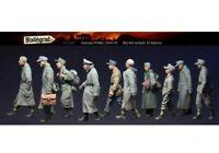1/35 Resin Figures Model Kit German P.O.W. Walking Soldiers Big Set (10 figures)