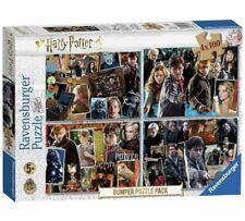 Harry Potter 4 x 100 Piece Puzzles Mr Ollivander, Hagrid, Bellatrix Lestrange_UK