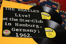 BEATLES LP LIVE STAR CLUB ORIG UK 1977 SMILE RECORD EX+ TOP RARE !!!!!!!!!!!!!!!