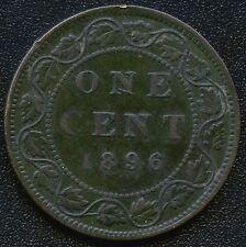 1896 (Far 6) Canada Large Cent Coin