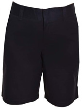 Tommy Hilfiger Shorts Womens Masters Navy Cotton Flat Front 4880 6