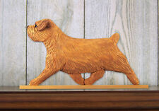 Norfolk Terrier Sign Plaque Wall Decor Red