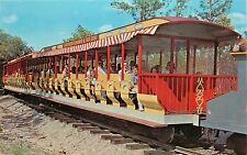 Six Gun Territory Silver Springs Florida Wild West Coaches Train Postcard