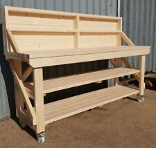 New! Wooden Workbench - Worktable - Workshop Bench - Heavy Duty!