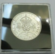 More details for 1944 george vi silver florin 2 shillings spink ref 4081 boxed with cert a1