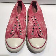 Converse Chuck Taylor Low Sneaker ALL STARS TIE-DYE PINK CANVAS Sz W 11, M 9.5