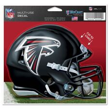 "Atlanta Falcons Wincraft NFL Helmet 4.5"" x 5.75"" Multi Use Decal FREE SHIP!"