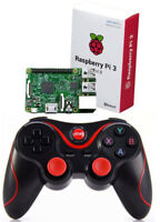 Wireless Bluetooth Controller Game Pad For Retropie Pi3 Raspberry PC MAC Android