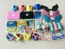 Accessories Clothes laptop Skirt Glasses Bows Wings Collars 15pcs Random For lps