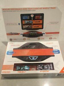 Hot Wheels ID Race Portal Set + 2 Exclusive Hot Wheels ID Cars BRAND NEW