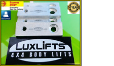 2 INCH RADIATOR DROP BRACKETS SUIT  BODY LIFT KIT HILUX 4RUNNER ETC  LUXLIFTS