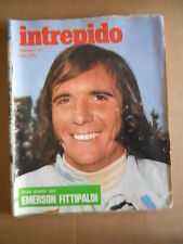 INTREPIDO n°31 1974 Emerson Fittipaldi Dori Ghezzi Ugo Tognazzi Paolo Vil [G490]