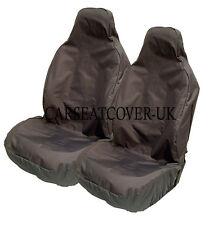 Heavy Duty Black Waterproof Car Seat Covers BUCKET seats - 2 x Fronts