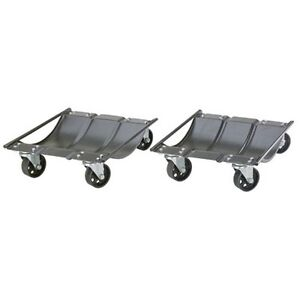 Larin CWD2 Car Wheel Dolly Set Pair - 1000 lb Capacity Each