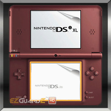 6X EZ-HD Clear LCD Top and Bottom Screen Protector Skins For Nintendo DSi XL