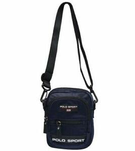 Polo Ralph Lauren Nylon Sport Cross Body Bag Navy Blue Man Bag