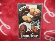 New ListingOnyx - Bacdafucup (1993) Cassette Tape Album Rare Hip Hop Rap