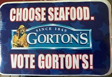 Gorton Seafood White T-Shirt in Sealed Package 1997