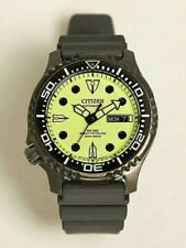 CITIZEN BEAUTY and YOUTH Bespoke Model Mens Automatic Divers Watch with Tracking
