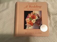 Fabulous Wedding Planner: Planning A Wedding To Remember By Beverly Clark