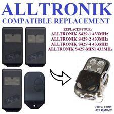 Alltronik S429-1, S429-2, S429-4, S429-Mini compatible remote control / clone