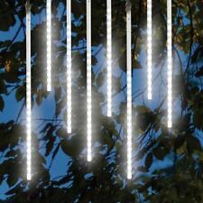 Meteor Shower Falling Rain Snow Fall LED Xmas String Lights Trees 8pcs