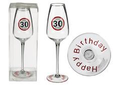Sektglas 30 Happy Birthday Geburtstag
