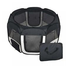 New Small Black Pet Dog Cat Tent Playpen Exercise Play Pen Soft Crate T08