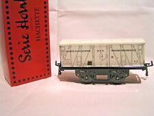 TRAINS HORNBY / HACHETTE ech/scale O 1/43 - WAGON COUVERT FRIGORIFIQUE + Boîte