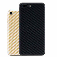 Thin Carbon Fiber Rear Back Film Protector Sticker Case Skin for iPhone 6 7 Plus