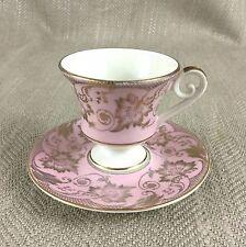 Vintage demitasse Coffee Cup & Saucer Dainty Art Deco German China Porcelain Vtg
