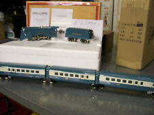 MTH Lionel Corp 279E O Gauge Tinplate Distance Control Steam Passenger Set Rare