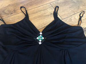 Black Vest Evans Size 20