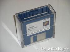 """Perspex 3.5"""" Disk Holder / Storage ~ Amiga / Atari ST / PC etc. ~ NEW old stock"""