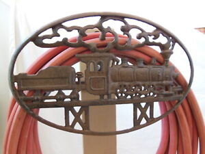 Train Garden Hose Hanger
