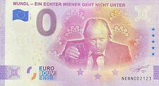 BILLET 0 EURO MUNDL EIN ECHTER WIENER GEHT NICHT  AUTRICHE 2021 NUMERO DIVERS
